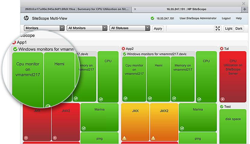 Micro Focus SiteScope Software