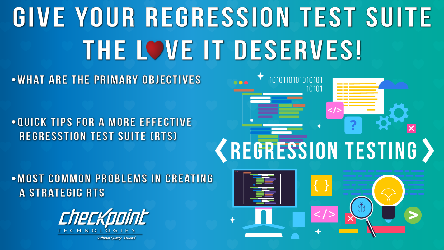 Give Your Regression Test Suite the Love It Deserves!